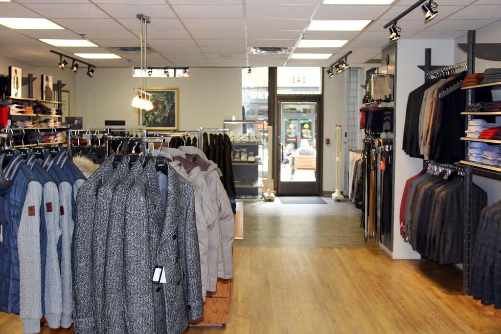 morgante menswear inside store
